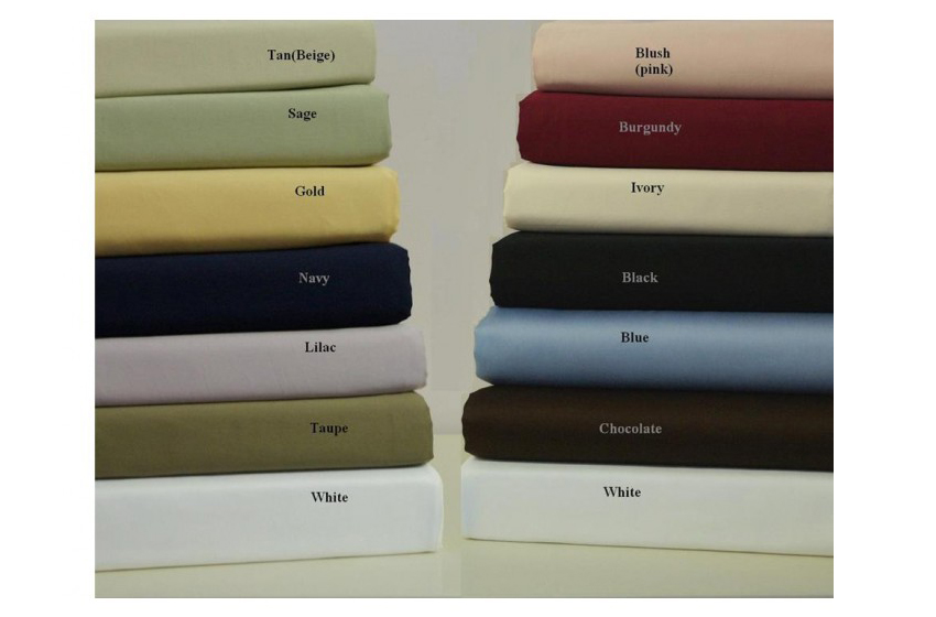 10. Waterbed Egyptian Linens 1500 TC Waterbed Solid Egyptian Cotton $330