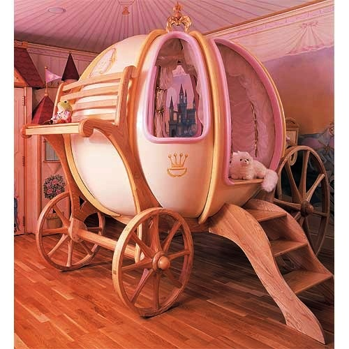 #2 Baby Crib Fantasy Coach - Price $65.000 | Most Expensive Baby Cribs in the World [ Image Source: poshtots.com]