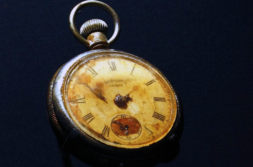 Most Expensive Items of Titanic Memorabilia | TOP 10 N4 Steward's Pocket Watch – $154,000