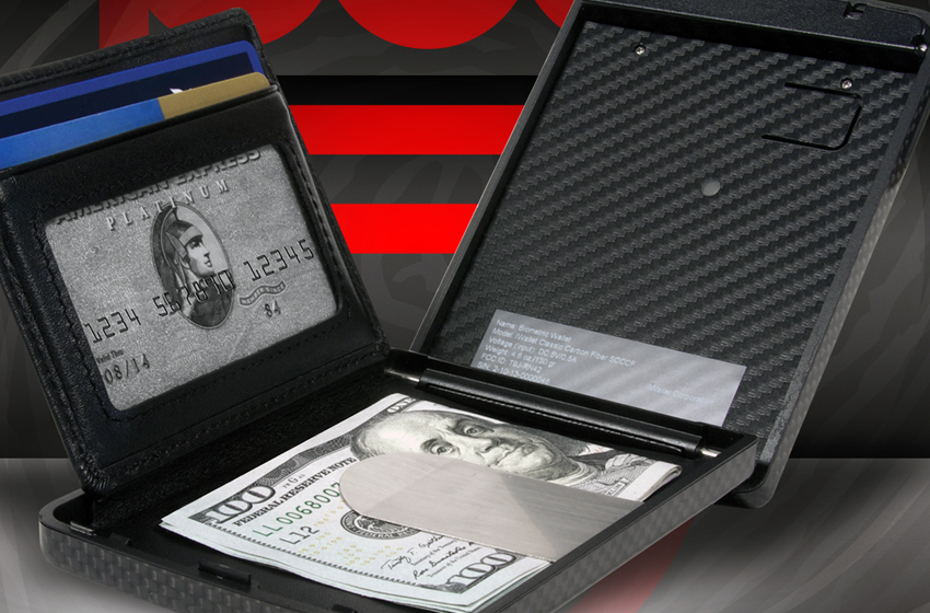 9- DUNHILL BIOMETRIC Wallet: $1,400