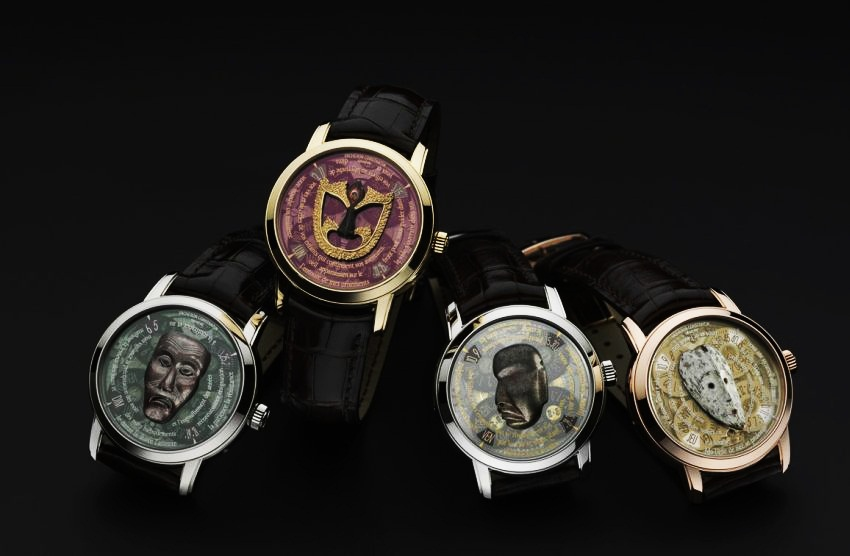 #9 Masque Watch by Vacheron | Most Luxurious Microsculpture Watches | Top 10 [ Image Source: luxuo.com]