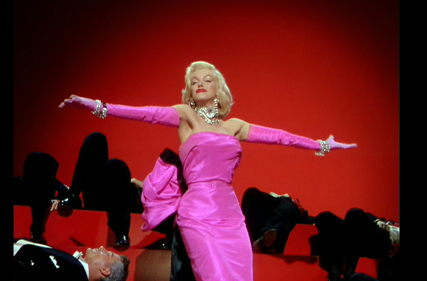 #9- PINK SATIN GOWN $320,000