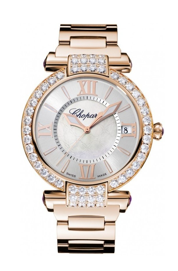 9. Chopard Imperiale Automatic 40 mm Pink Gold – $61,890 - Most Expensive Chopard Watches Top 10