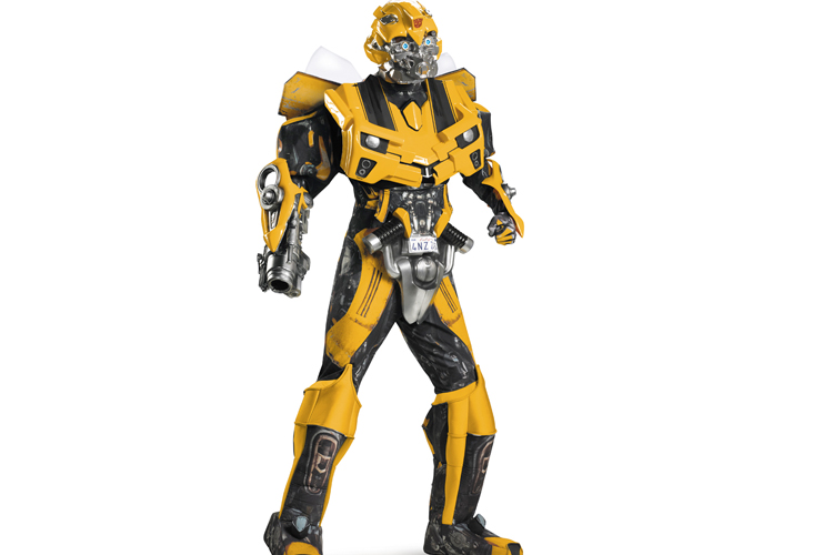 Transformers Bumblebee Costume -$300  sc 1 st  Alux.com & 10 Most Expensive Halloween Costumes in the World