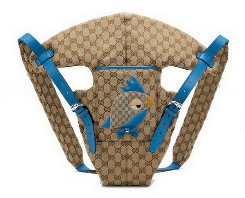 10. The Baby Carrier Gucci 4 – Price: $600 | Most Expensive Baby Gifts | Image Source: http://www.bagsscarfusa.com/