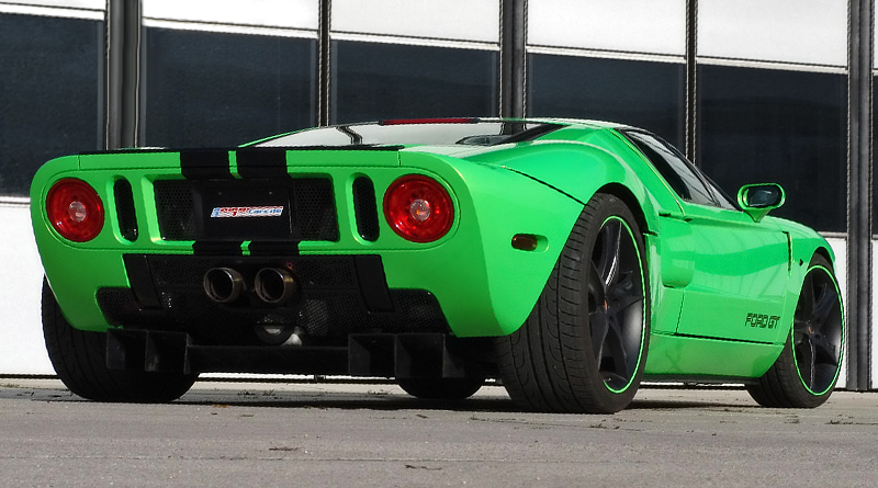 Most Expensive Ford Cars In The World Top 10 - 9. Ford GT GeigerCars HP790