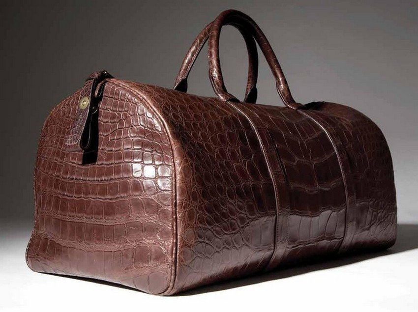 Alligator Duffle Price 41 310 Most Expensive Tom Ford Bags For Men