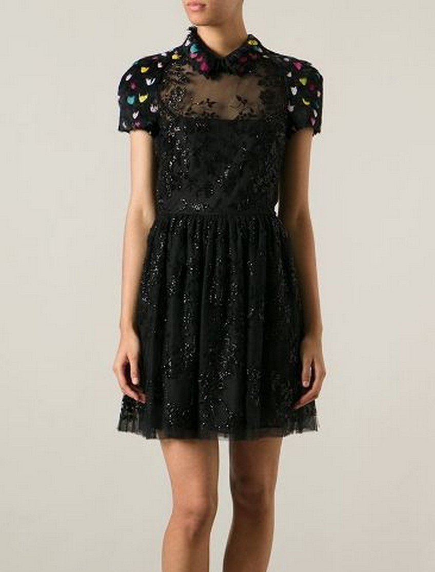 9. Feather and Bead-embellished Dress - Price: $10,100 | Most Expensive Valentino Dresses | Image Source: http://www.lwcloset.com/