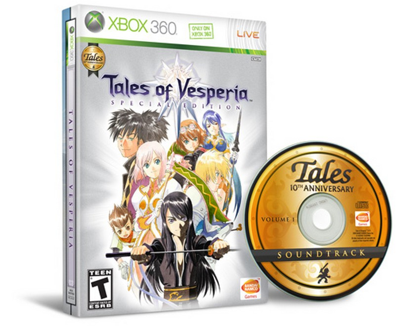 10. Tales of Vesperia: Special Edition – Price: $225 | Most Expensive Xbox 360 Games | Image Source: http://media.exophase.net/