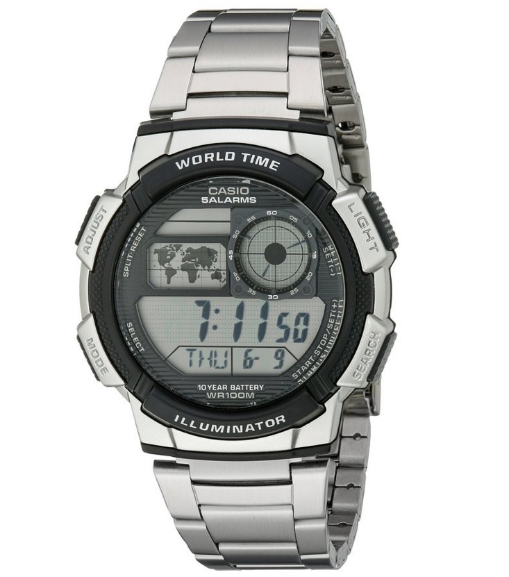 #9 Casio Men's Illuminator Best Watches for Sports Players Top 10