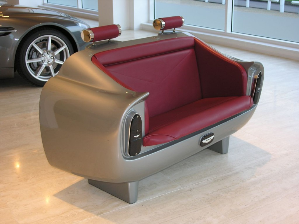 #10 Aston Martin DB6 Couch | Most Expensive Sofa's In The World | Top 10 | Image Source: richtigteuer.de