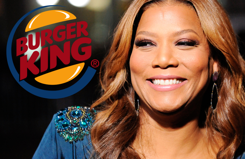 10 Celebrities Who Have Worked in Fast Food  N10. Queen Latifah at Burger King