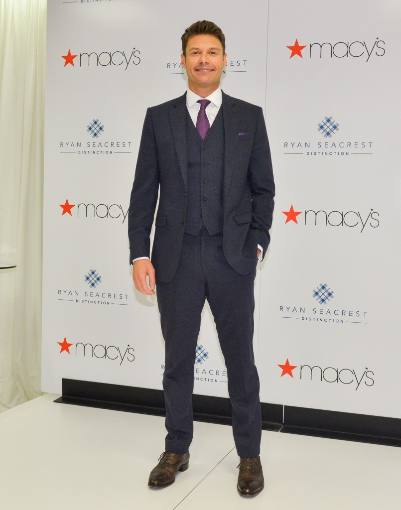 #10 Ryan Seacrest and Macy's | Best Celebrity Designer Collaborations Of 2014 | Top 10 | Image Source: google.com