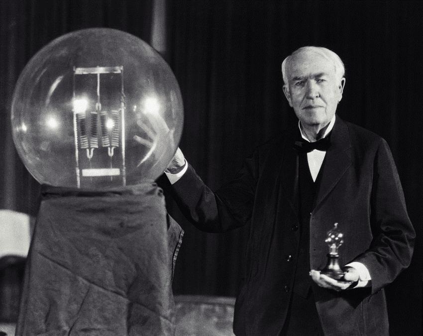 #10 Thomas Edison - Net worth - $170 million | Richest Inventors in the World | Top 10 [ Image Source: luxfon.com]
