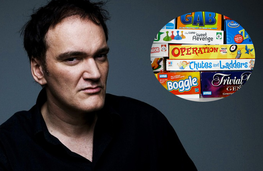 10 Unusual Celebrity Collections N10. Quentin Tarantino- Board Games