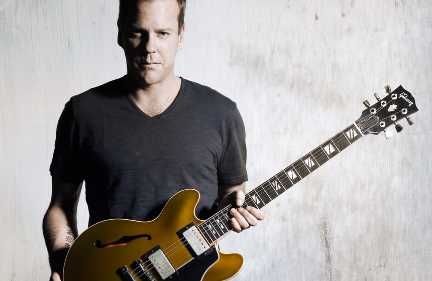 10 Unusual Celebrity Collections N9. Kiefer Sutherland – Gibson Guitars