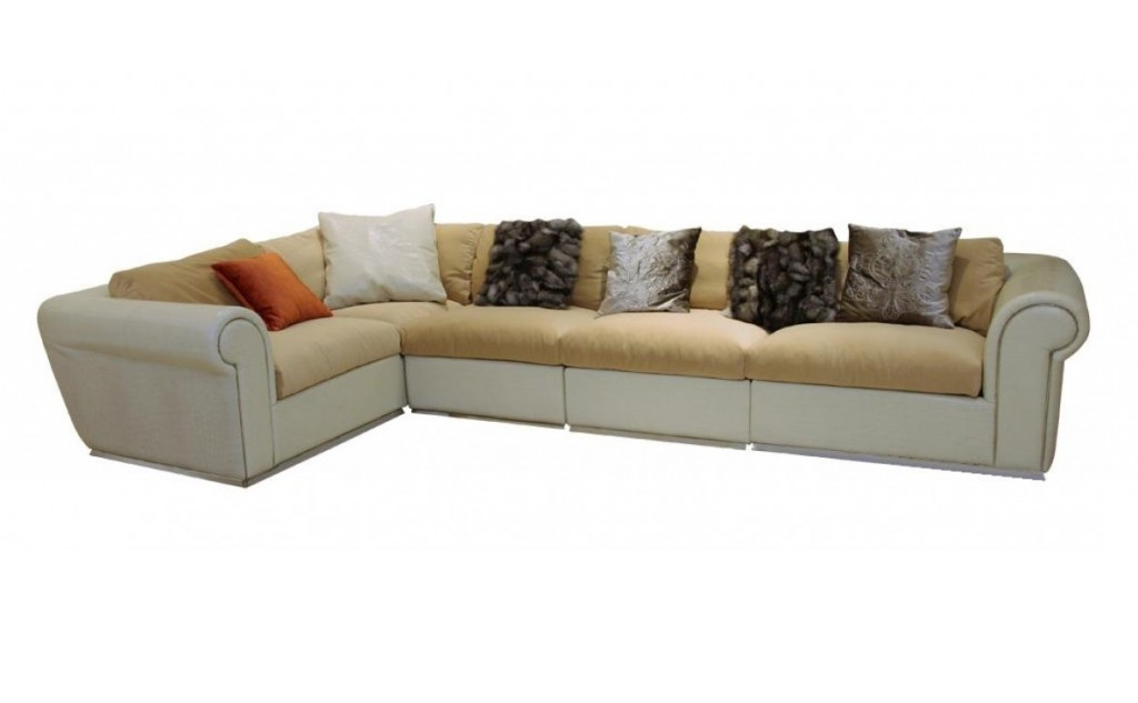 #8 VIG Crocodile Leather Sectional Sofa | Most Expensive Sofas In The World | Top 10 | Image Source: sohomod.com
