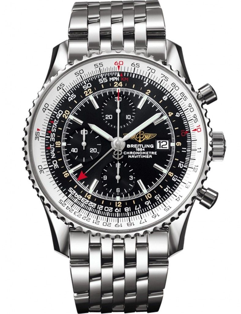 часы breitling navitimer world следует