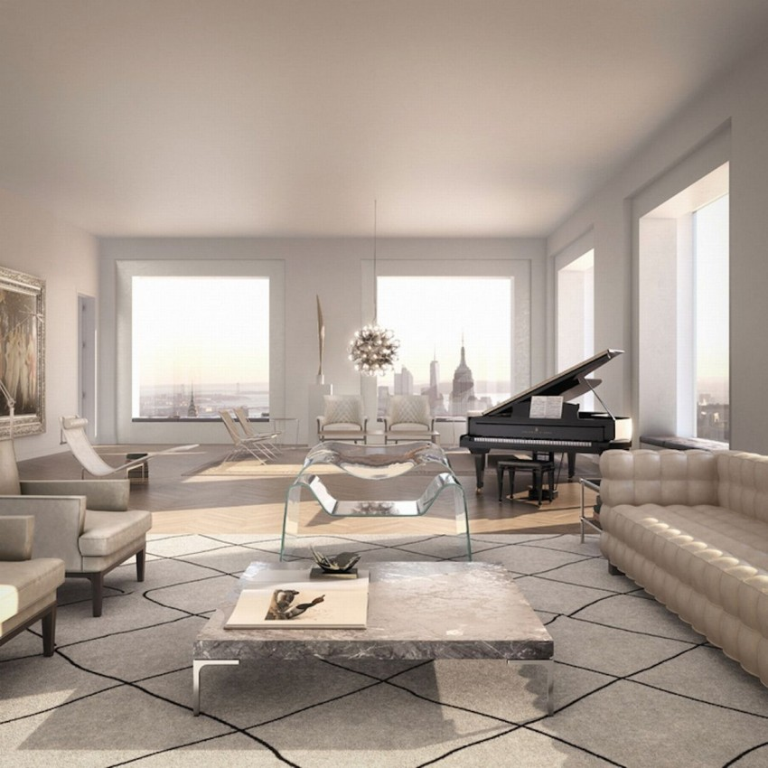 Inside the $95 Million 432 Park Avenue NYC Apartment (1)