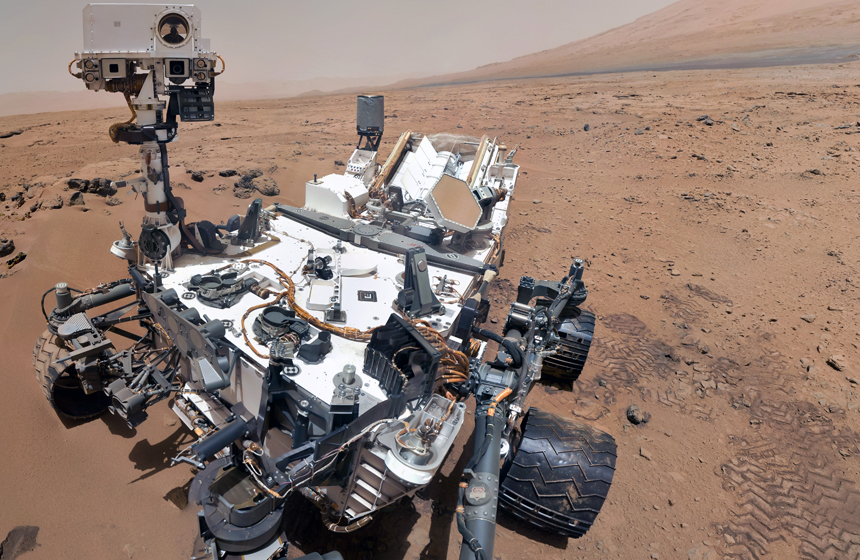 Most Expensive Space Projects and Missions N10- Curiosity Mars Rover -$2.5 billion