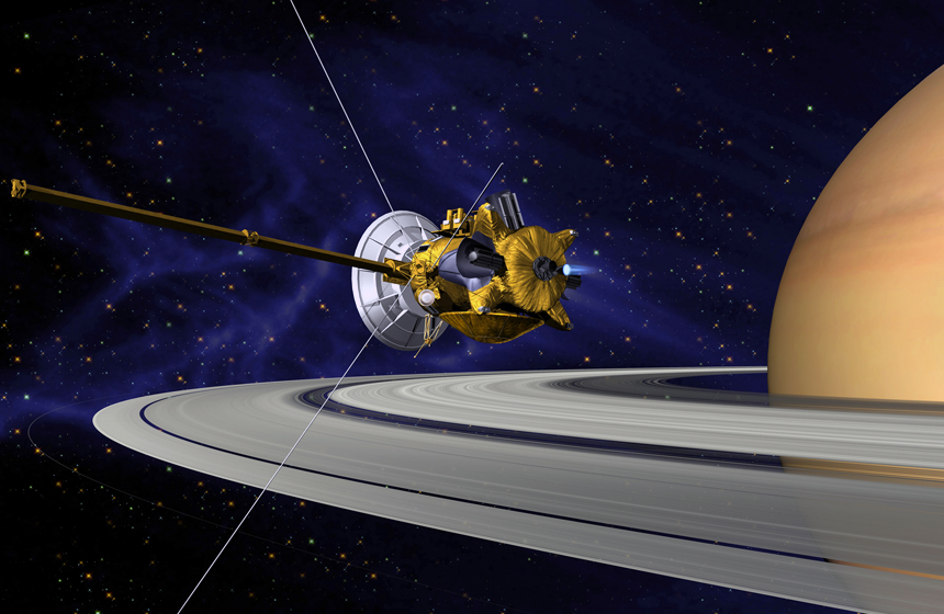 Most Expensive Space Projects and Missions N9- Cassini–Huygens- $3.26 billion