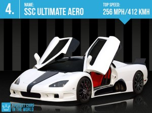 fastest cars in the world 2016 SSC Ultimate Aero top speed