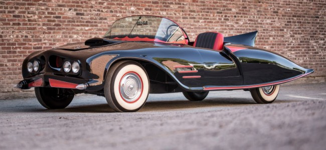 The First Official Batmobile Ever Made is Up for Sale