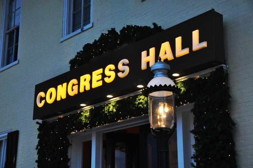 #10 Congress Hall, Cape May, NJ | Best Christmas Hotels in the United States | Top 10 [ Image Source: capemayresort.com]