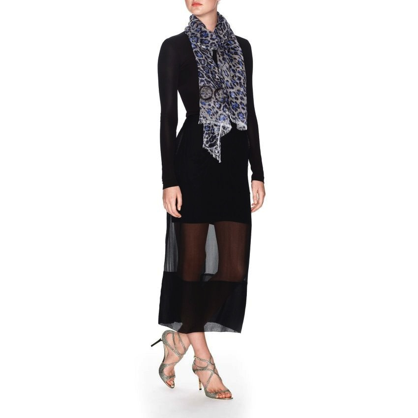 #10 Jimmy Choo Scarf - Price $295 | Most Expensive Jimmy Choo Products for Women | Top 10 [ Image Source: us.jimmychoo.com]