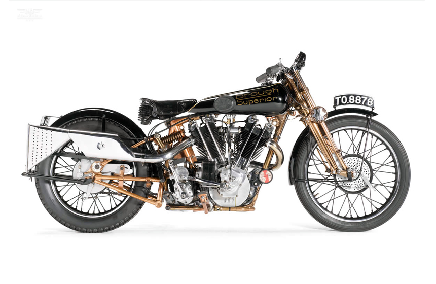 10 Most Expensive Motorcycles Sold At Auction N9. 1929 Brough Superior SS100- $448,156