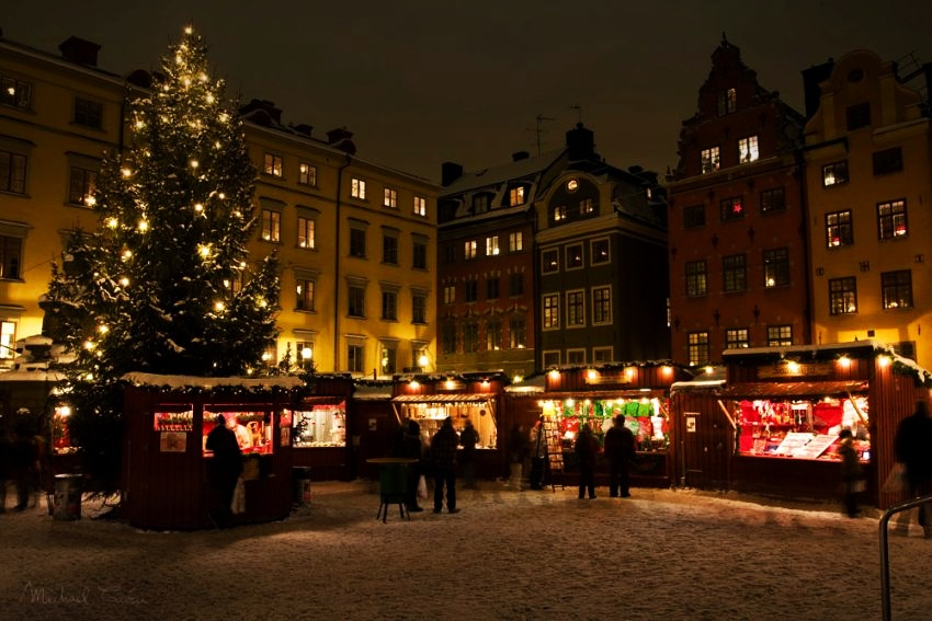 #10 Stockholm, Sweden | Best Christmas Markets in Europe | Top 10 [ Image Source: commons.wikimedia.org]
