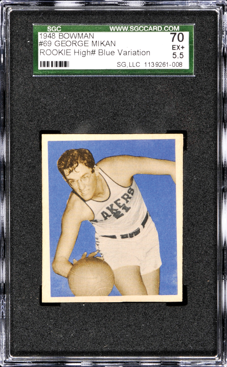Most Expensive Sport Cards in the World | TOP 10 10. George Mikan, Basketball, 1948 Bowman – $218,550
