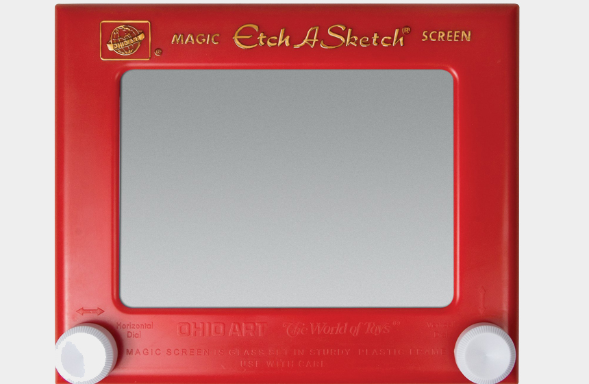 Best-Selling Toys of All Time TOP 10 10) Etch-A-Sketch