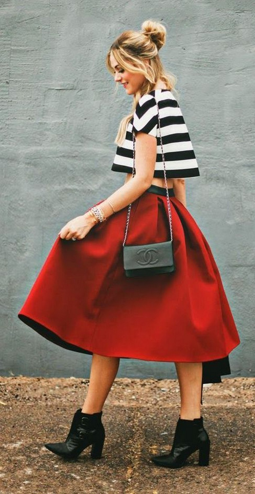 9. Midi skirt | Winter Fashion Trends 2016 | Image Source: http://whowhatwear.com