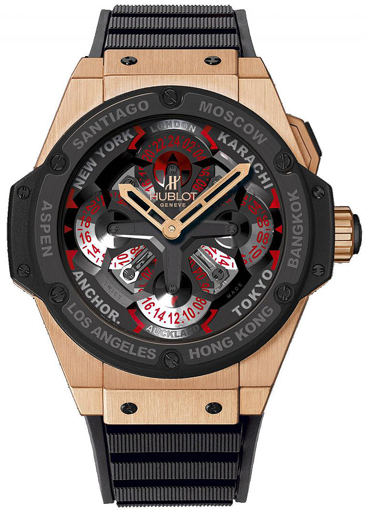 Expensive GMT and World Time Watches