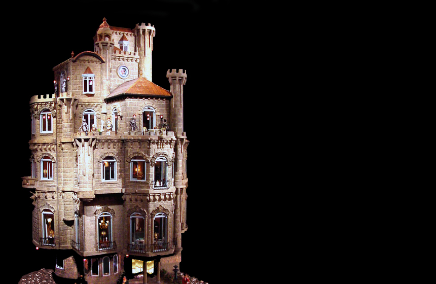 Most Expensive Dollhouses in the World N2. The Astolat Dollhouse – $1.1 million