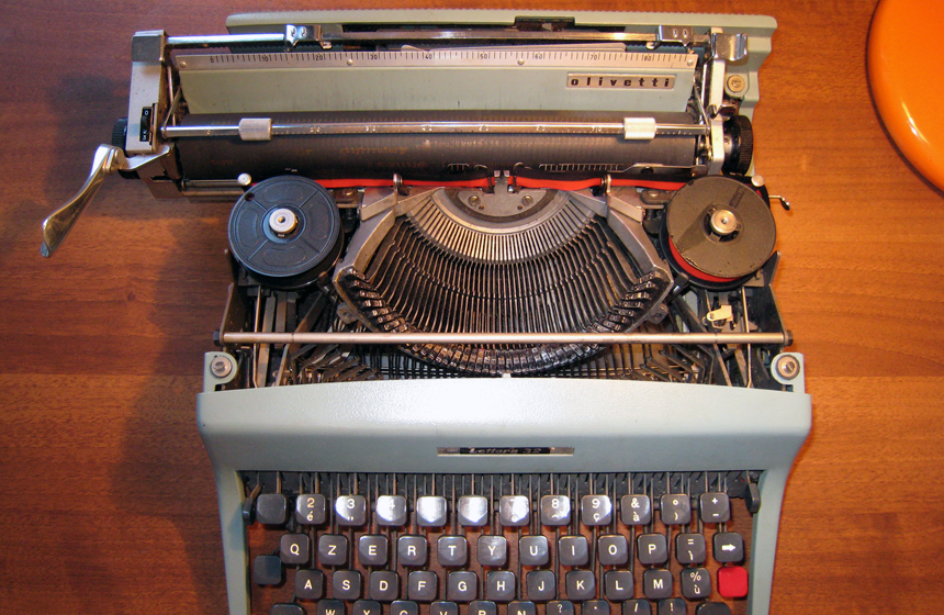 Most Expensive Writing Instruments  TOP 10 N6. Typewriter-$254,500