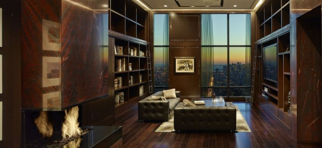 Inside A Billionaire's Luxurious Sky-High Manhattan Penthouse