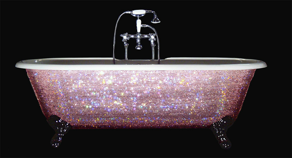 top 10 most expensive bathtubs in the world - diamond bathtub