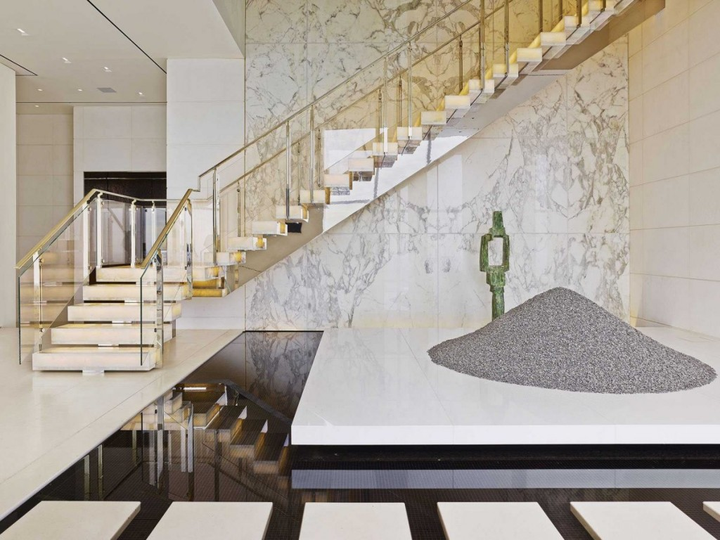 what a Billionaire's NYC Penthouse in new york city looks like, interior architecture, luxury home (1)