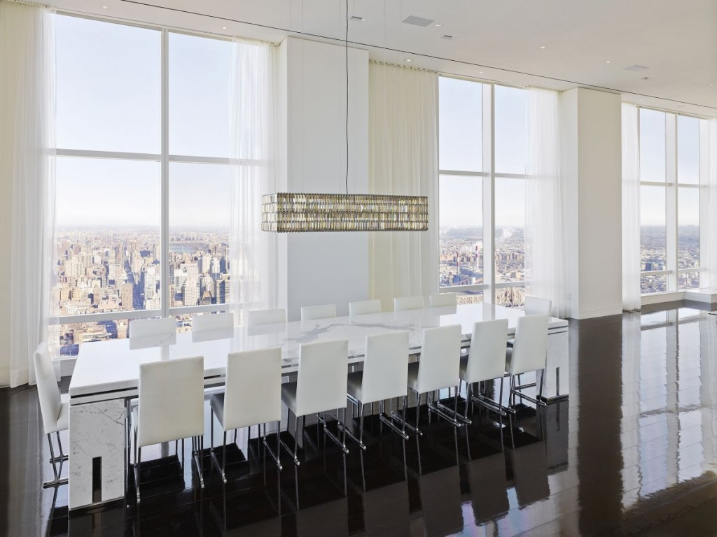 what a billionaire's penthouse in new york city looks like, interior architecture, luxury home (10)