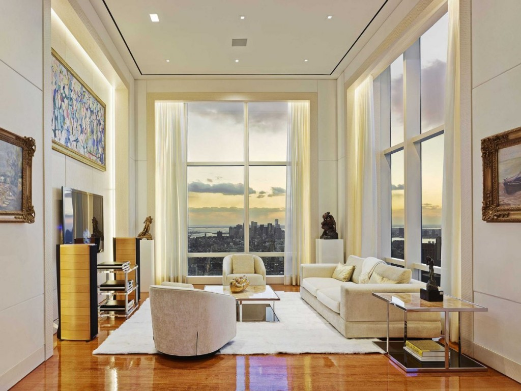 what a Billionaire's NYC Penthouse in new york city looks like, interior architecture, luxury home (11)