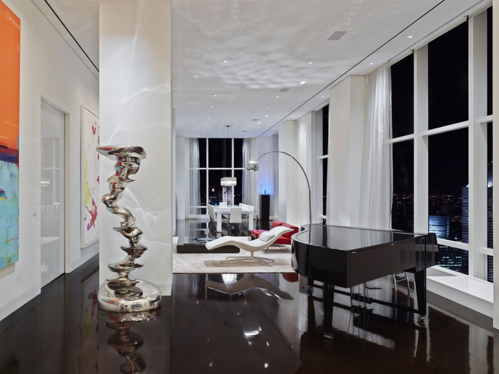 what a Billionaire's NYC Penthouse in new york city looks like, interior architecture, luxury home (12)