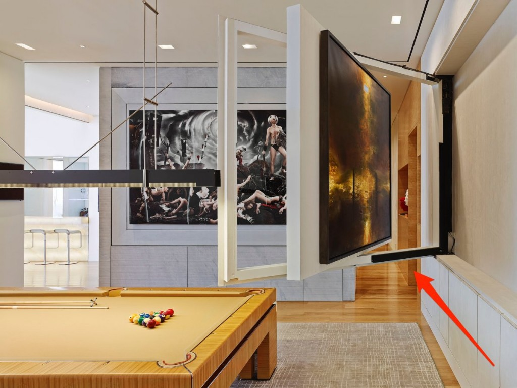 what a billionaire's penthouse in new york city looks like, interior architecture, luxury home (21)