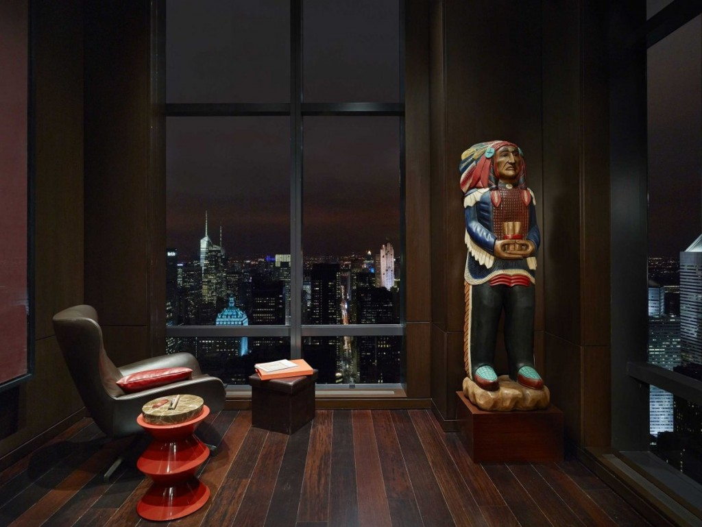 what a Billionaire's NYC Penthouse in new york city looks like, interior architecture, luxury home (23)