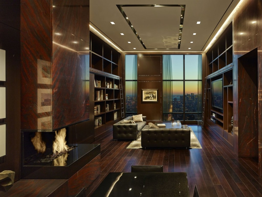 what a billionaire's penthouse in new york city looks like, interior architecture, luxury home (24)
