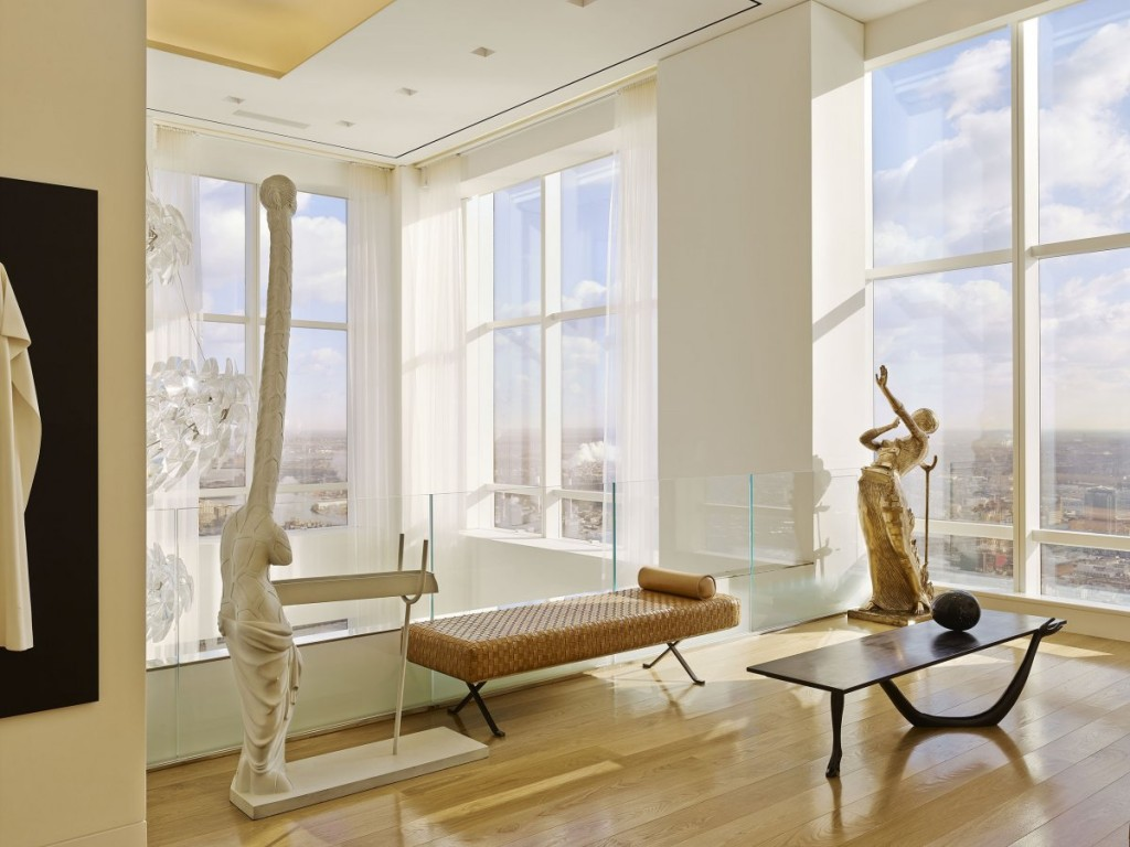 what a billionaire's penthouse in new york city looks like, interior architecture, luxury home (3)