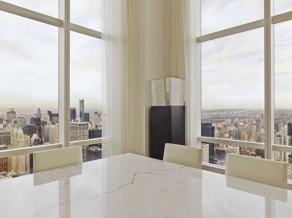 what a Billionaire's NYC Penthouse in new york city looks like, interior architecture, luxury home (4)