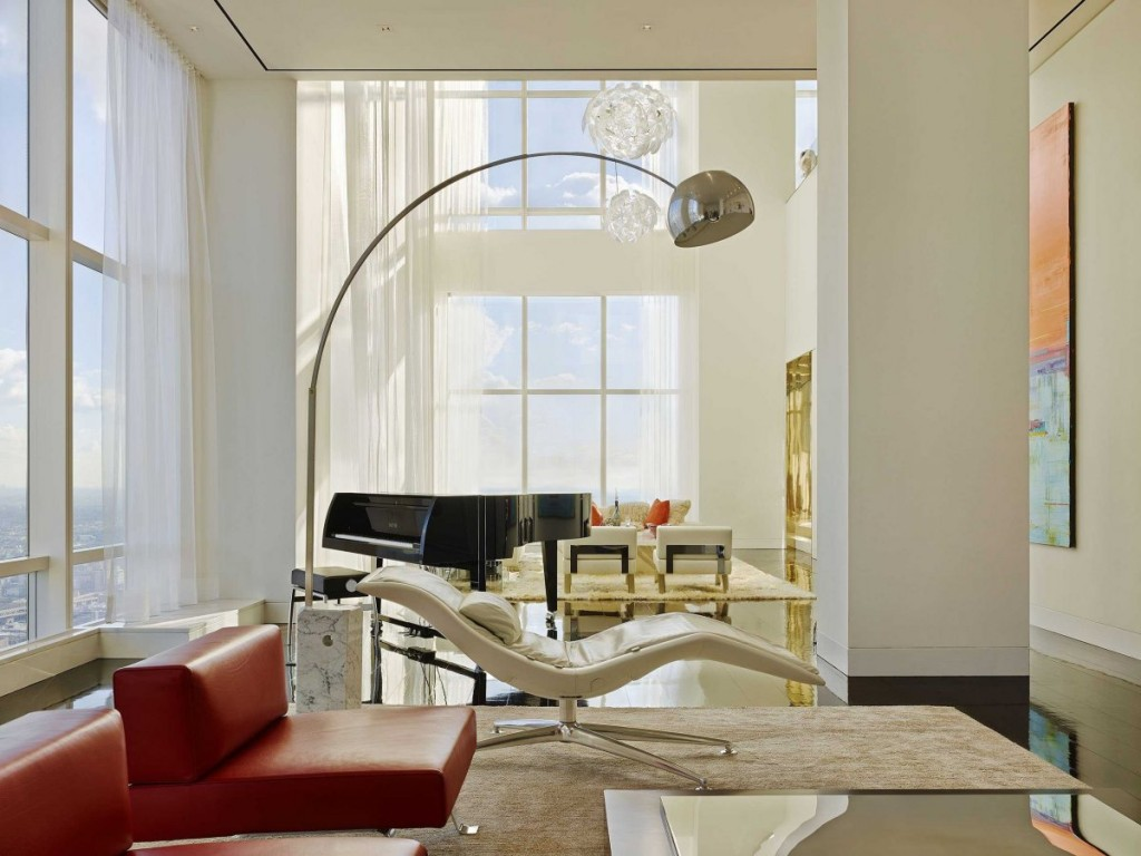 what a billionaire's penthouse in new york city looks like, interior architecture, luxury home (5)