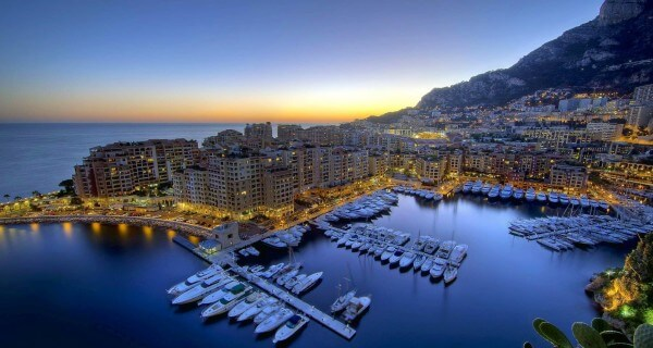 The Ultimate Luxury Trip to the French Riviera | The French Riviera at night